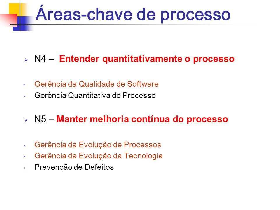 Áreas-chave de processo