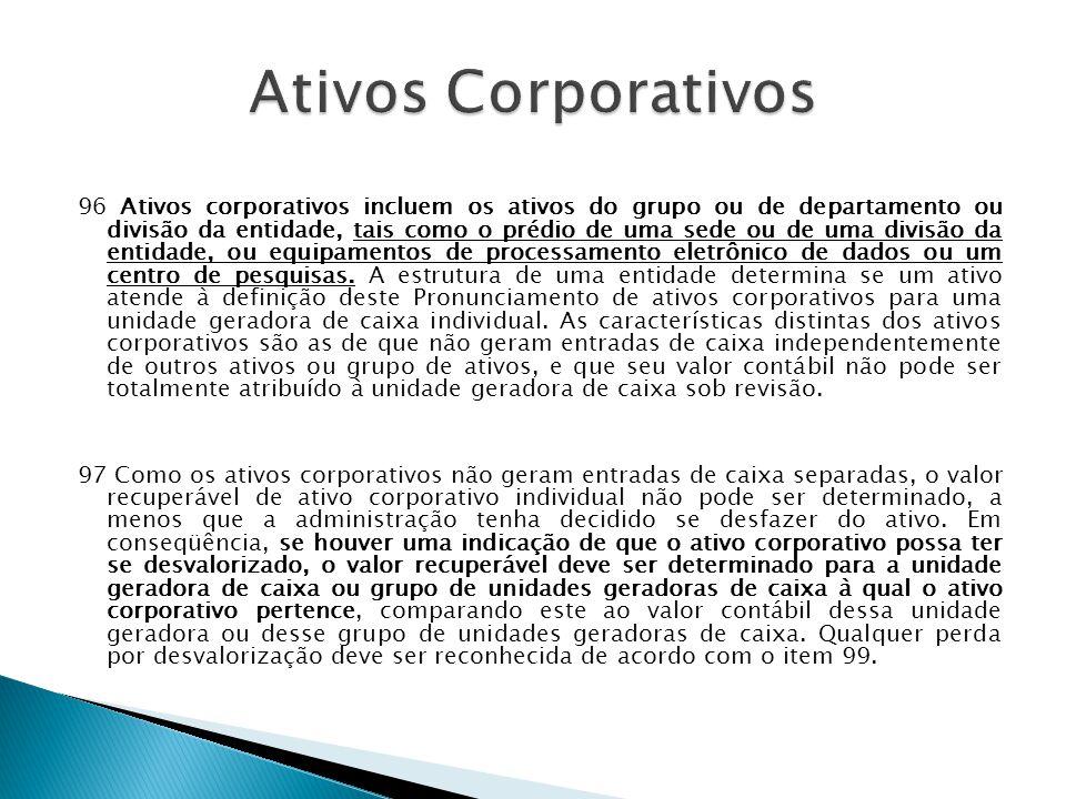 Ativos Corporativos