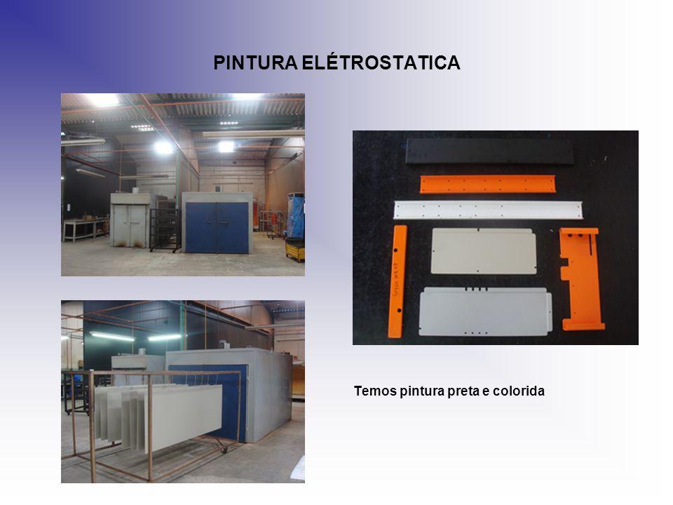PINTURA ELÉTROSTATICA