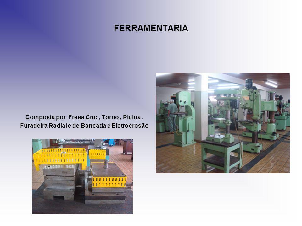 FERRAMENTARIA Composta por Fresa Cnc , Torno , Plaina ,