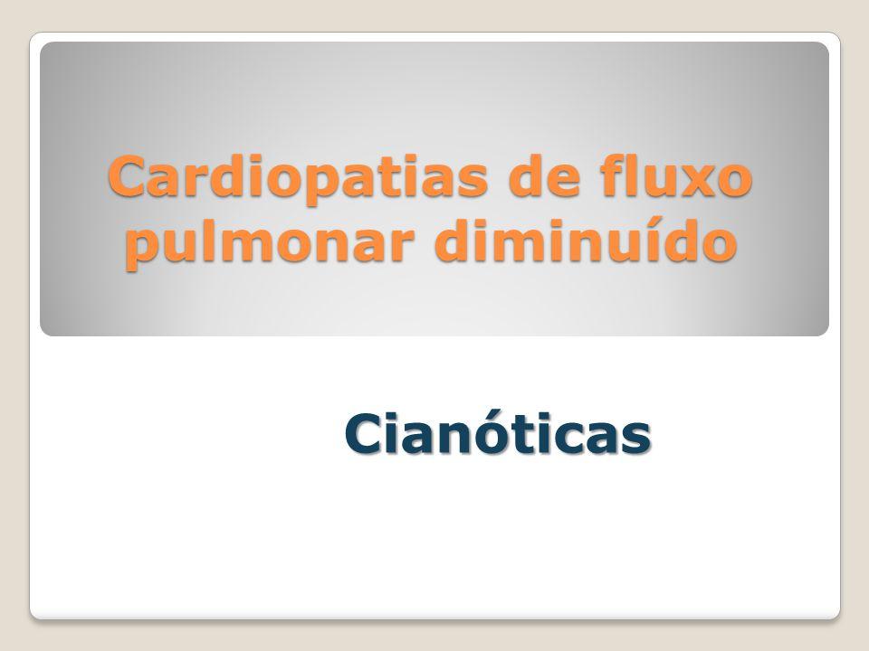 Cardiopatias de fluxo pulmonar diminuído
