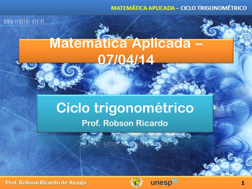 Matemática Aplicada – 07/04/14