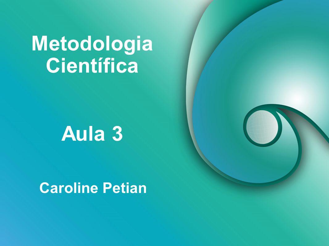 Metodologia Científica