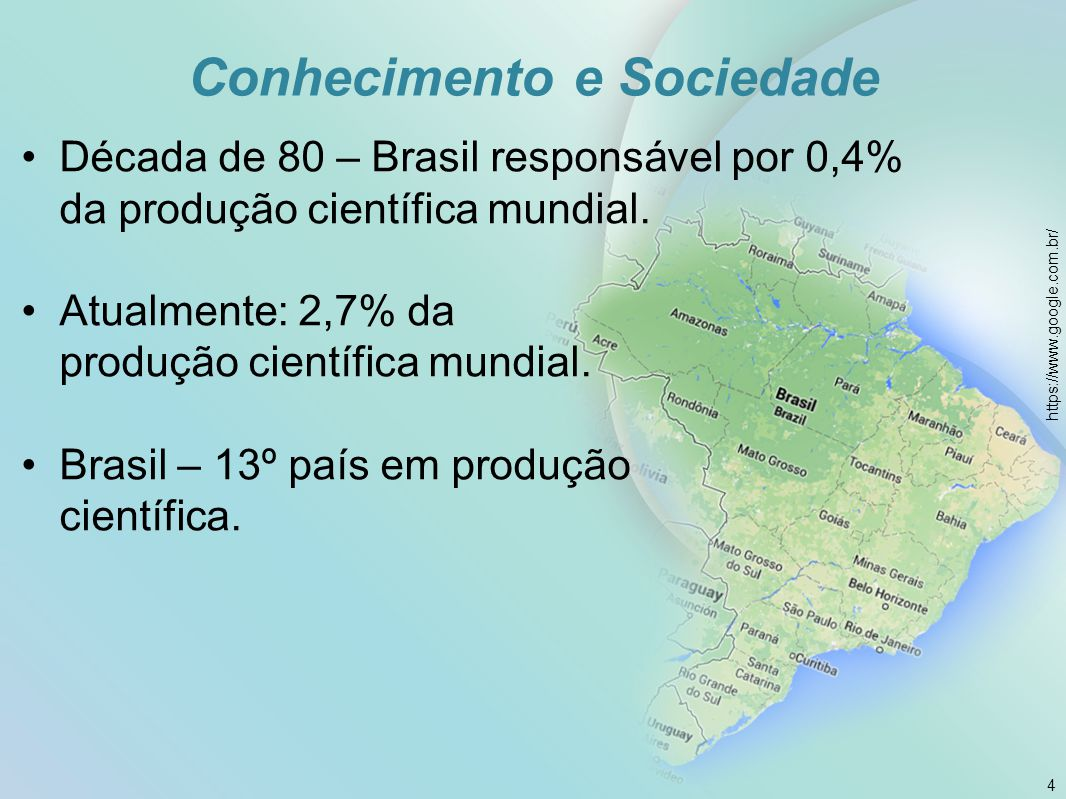 Conhecimento e Sociedade