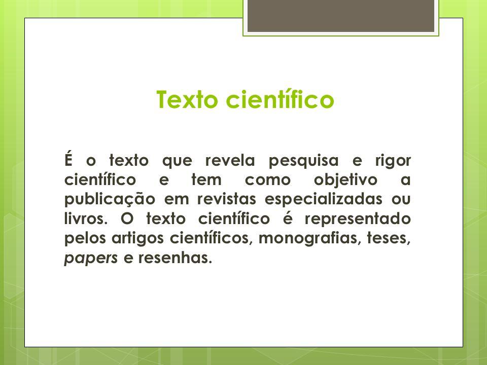 Texto científico