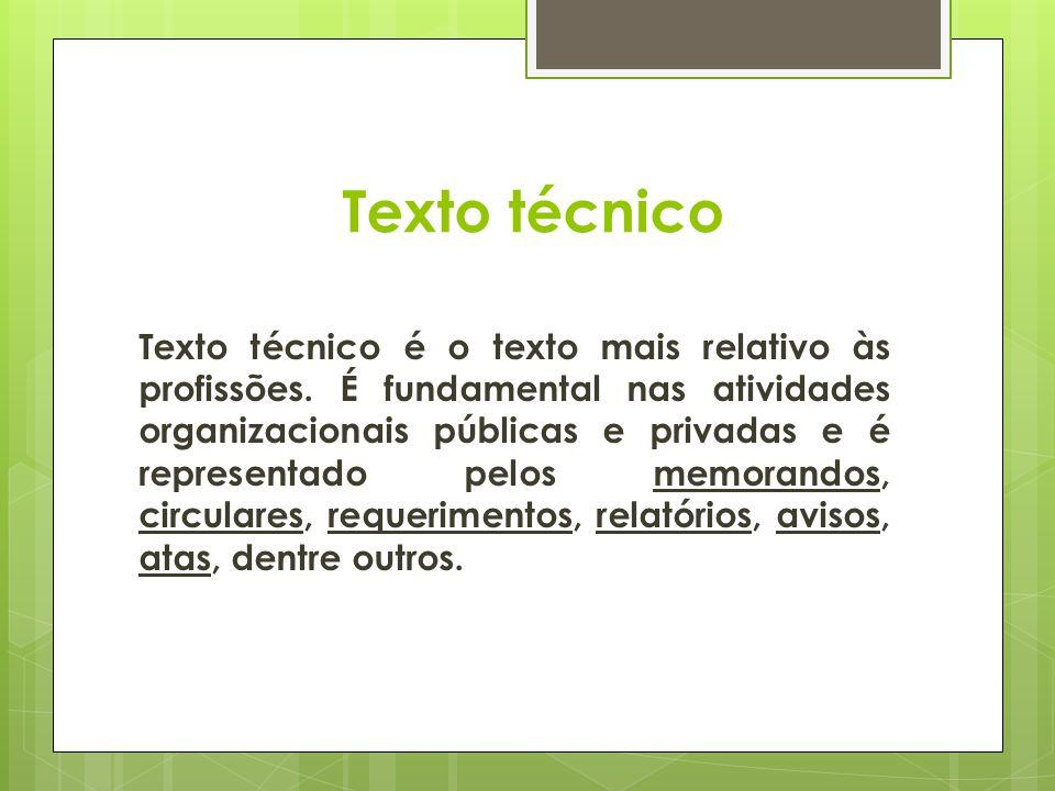 Texto técnico