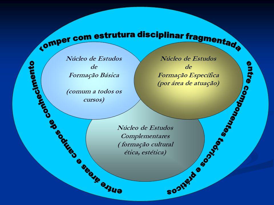 Complementares ( formação cultural (comum a todos os cursos)