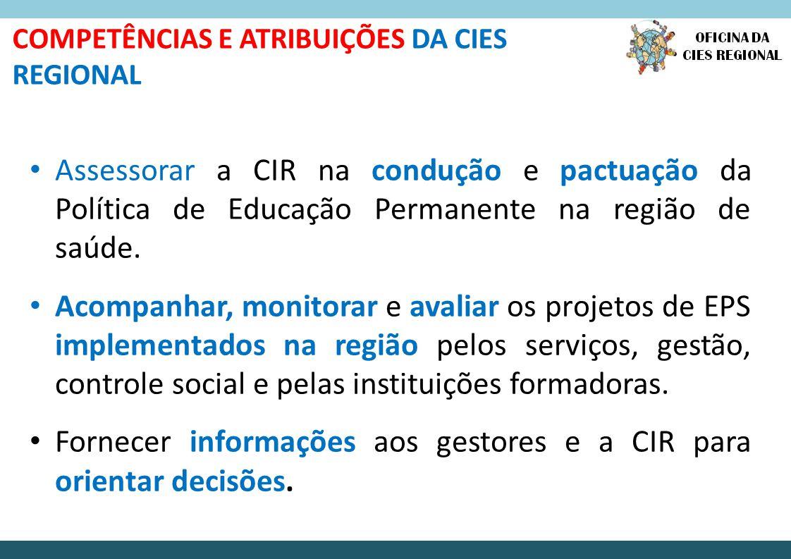 Fornecer informações aos gestores e a CIR para orientar decisões.