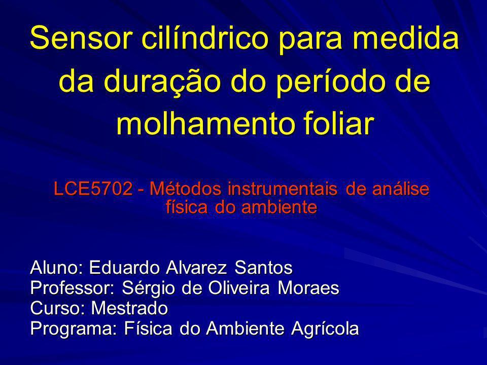 LCE5702 - Métodos instrumentais de análise física do ambiente