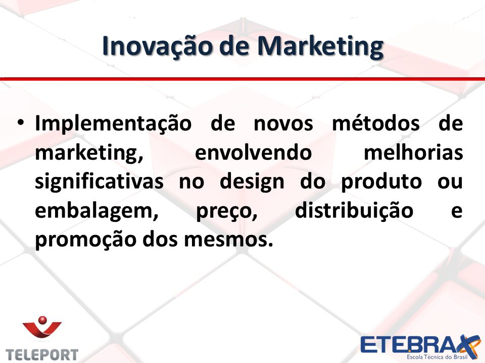 Inovação de Marketing