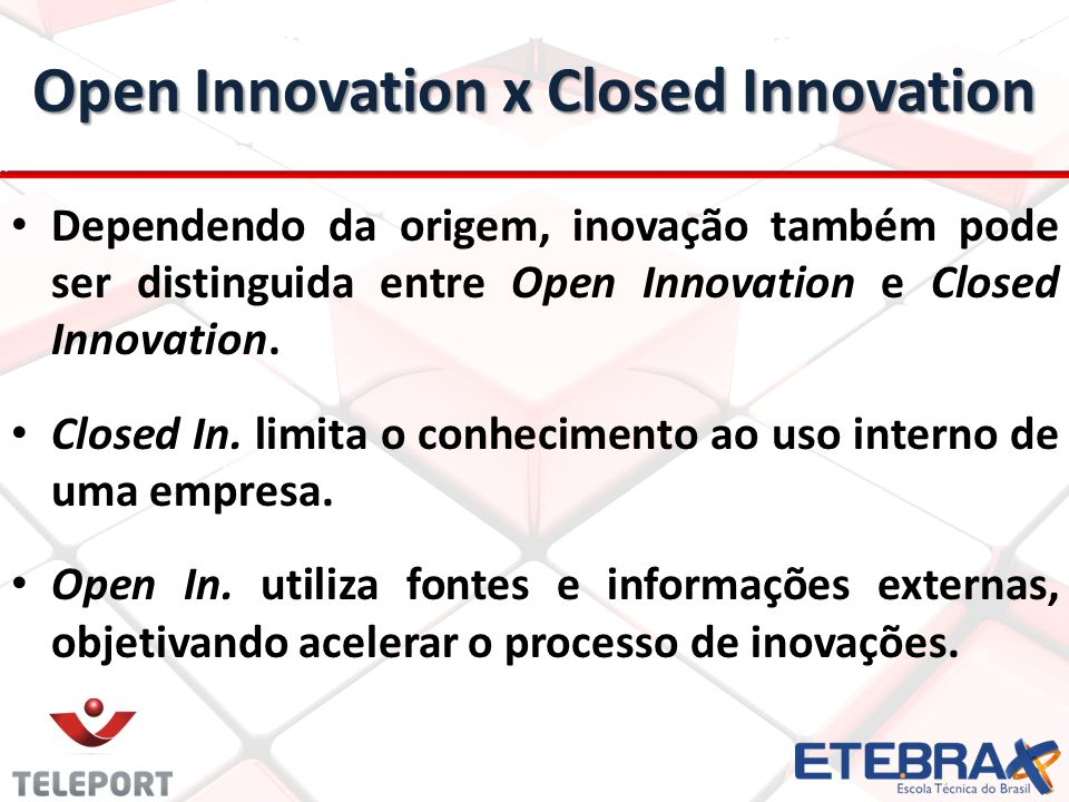 Open Innovation x Closed Innovation