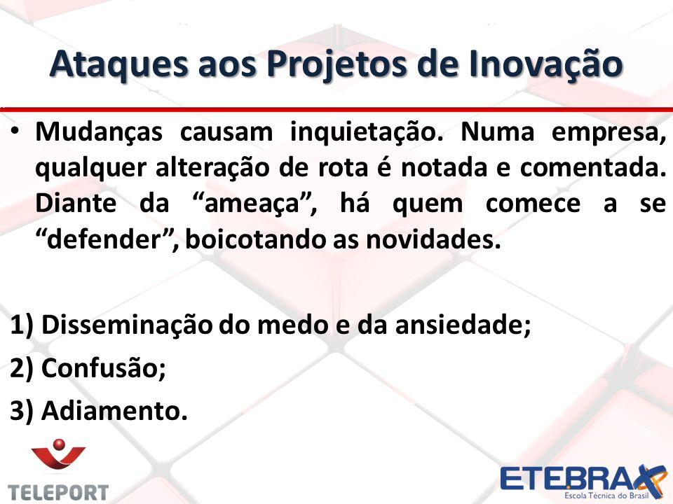 Ataques aos Projetos de Inovação