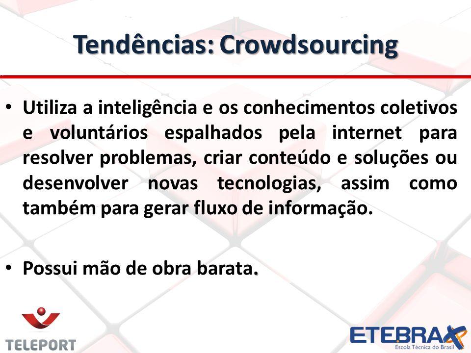 Tendências: Crowdsourcing