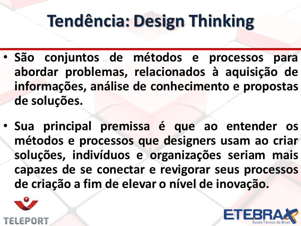 Tendência: Design Thinking