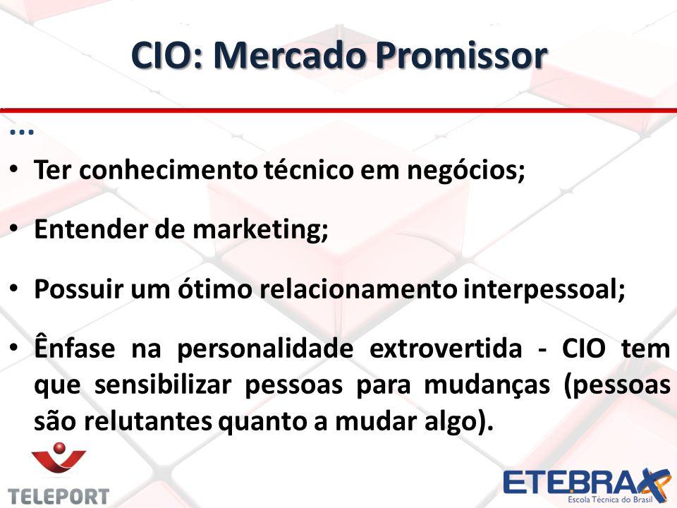 CIO: Mercado Promissor