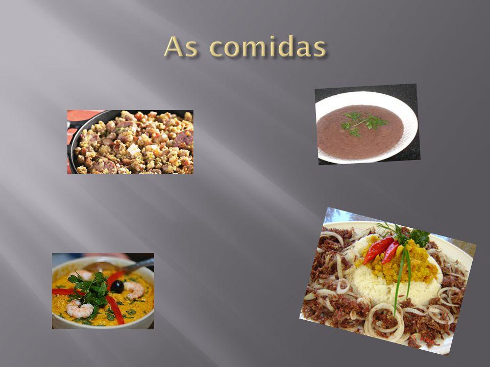 As comidas