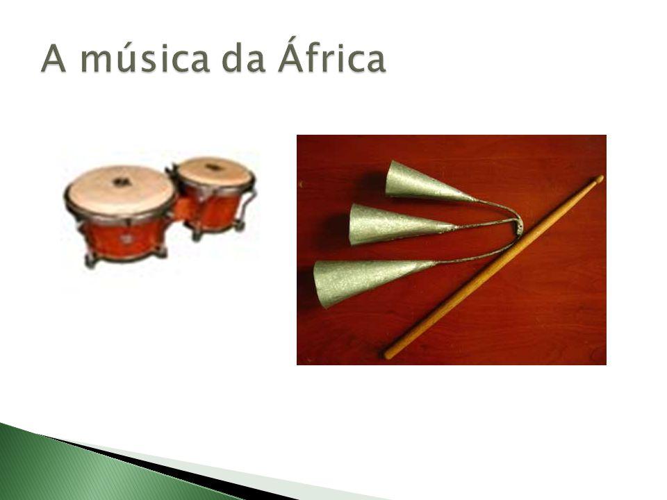 A música da África