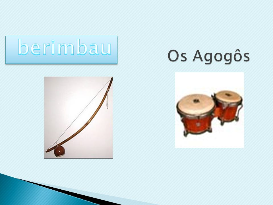berimbau Os Agogôs