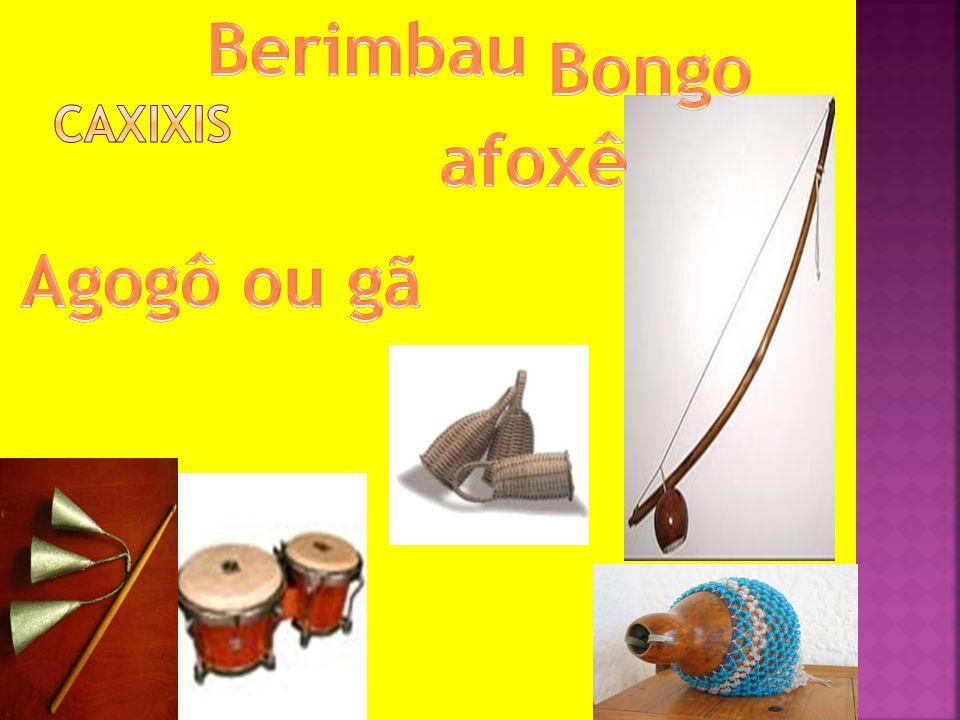 Berimbau Bongo afoxê Agogô ou gã
