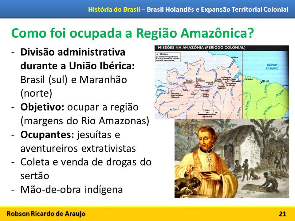 Como foi ocupada a Região Amazônica