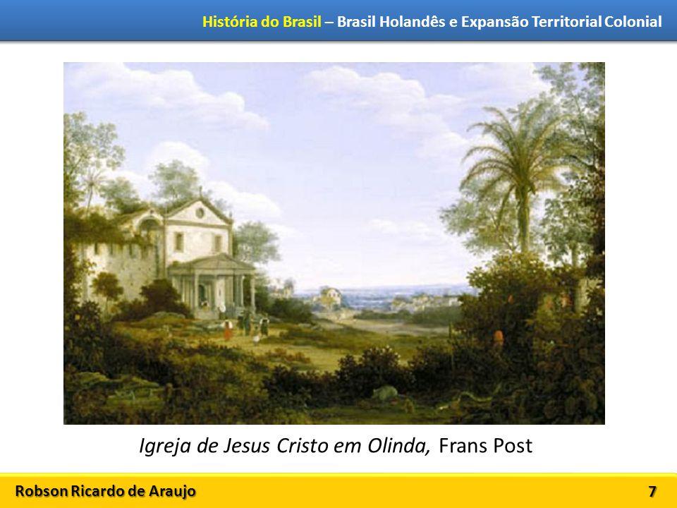 Igreja de Jesus Cristo em Olinda, Frans Post
