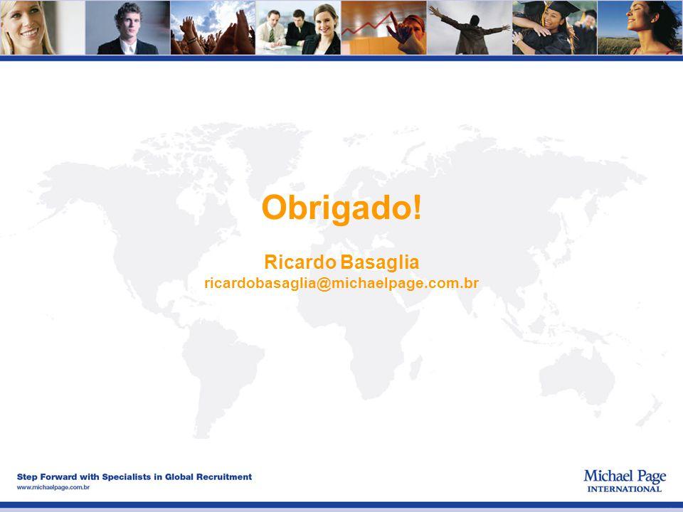 Ricardo Basaglia ricardobasaglia@michaelpage.com.br