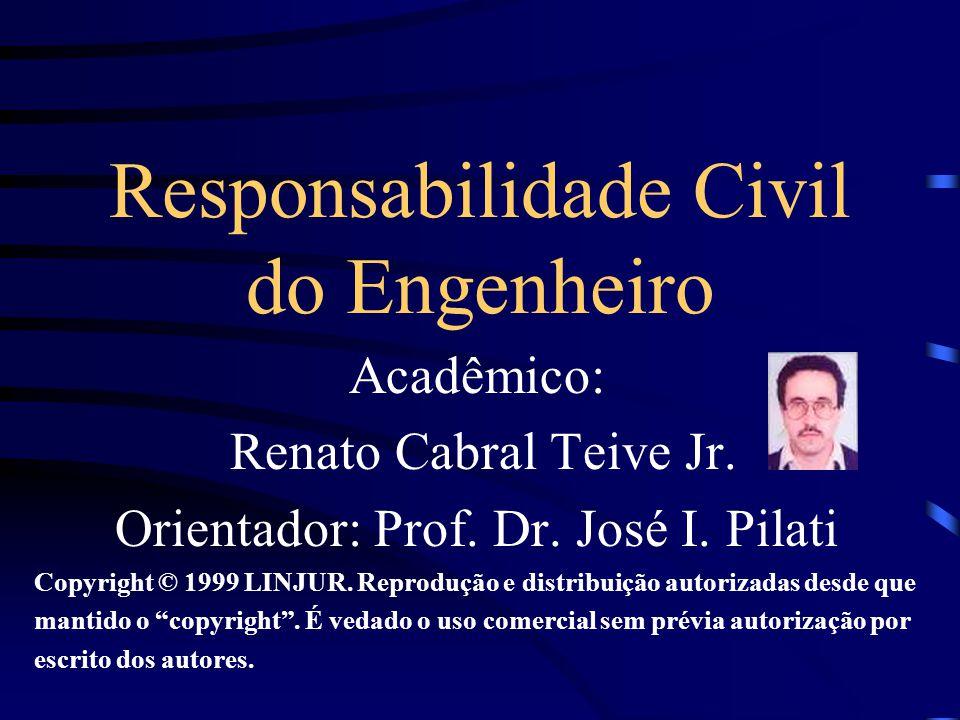 Responsabilidade Civil do Engenheiro