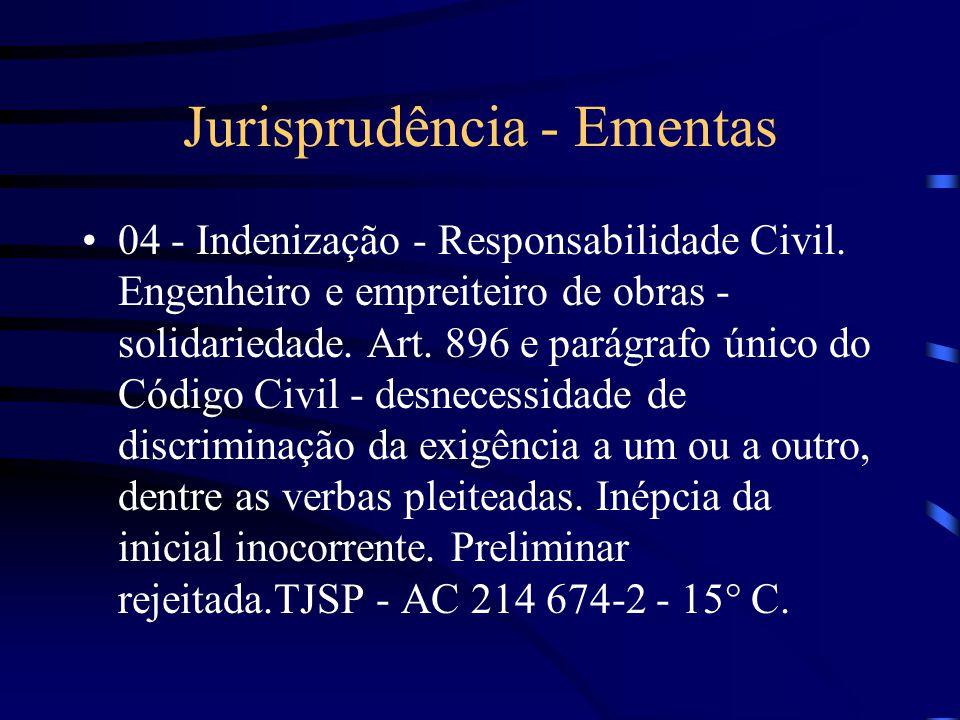 Jurisprudência - Ementas