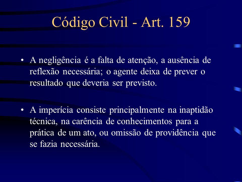 Código Civil - Art. 159