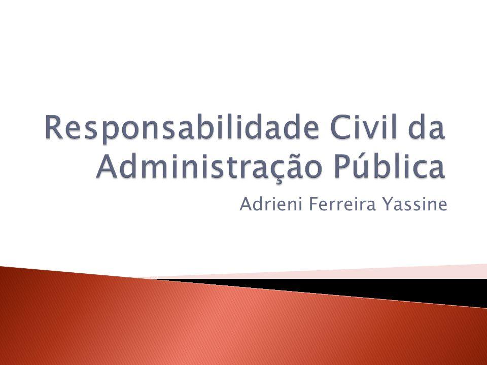 Responsabilidade Civil da Administração Pública