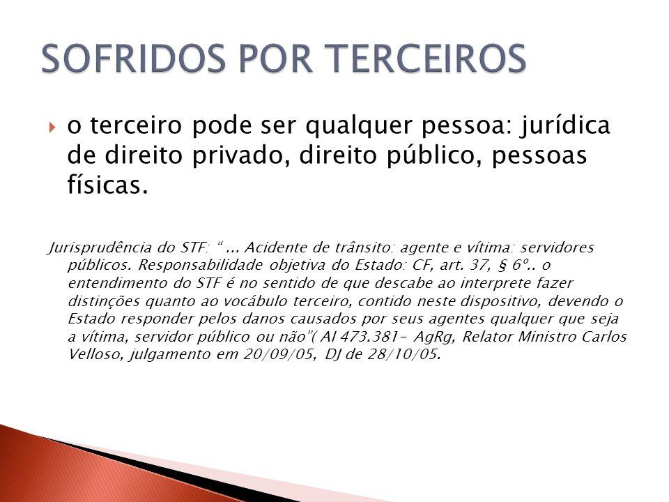SOFRIDOS POR TERCEIROS