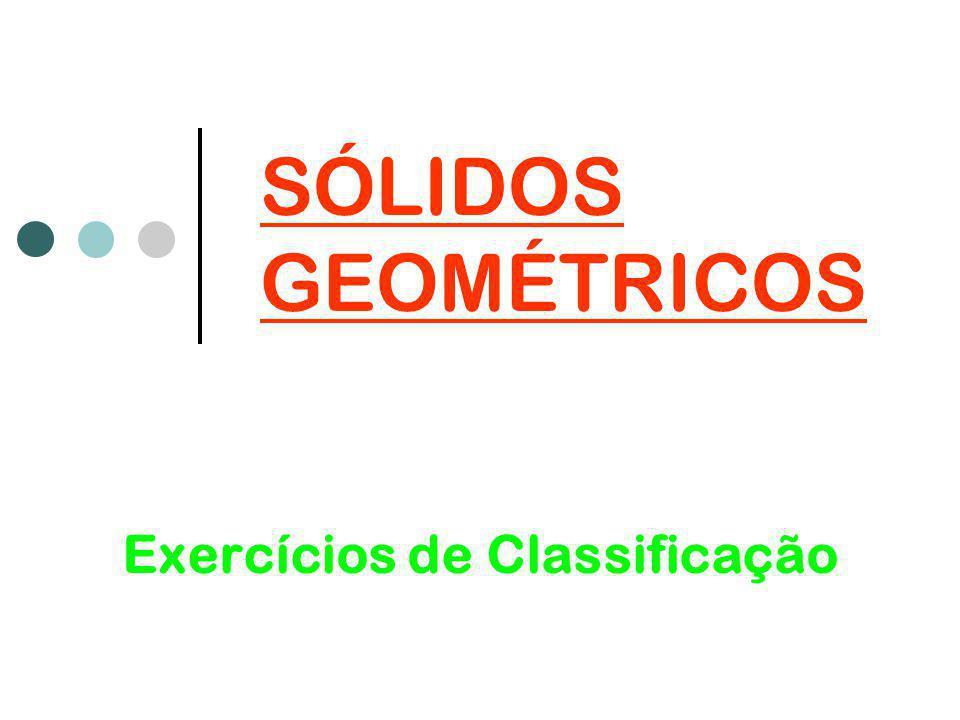 Exercícios de Classificação