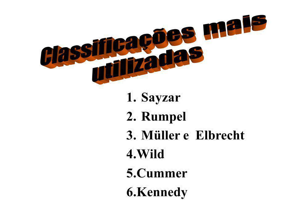 Sayzar Rumpel Müller e Elbrecht 4.Wild 5.Cummer 6.Kennedy