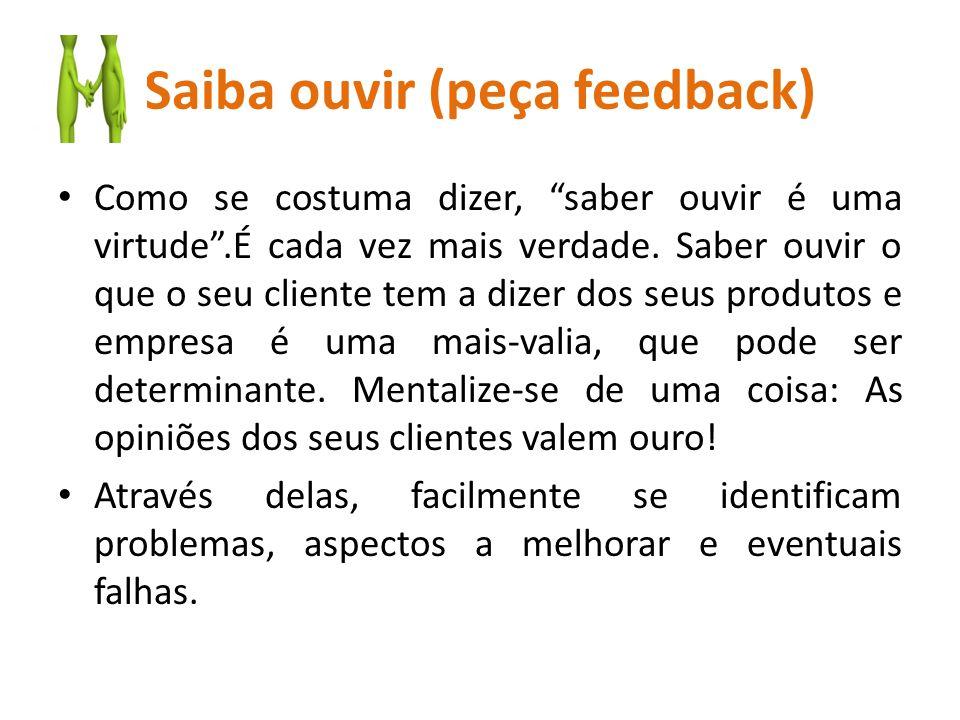 Saiba ouvir (peça feedback)