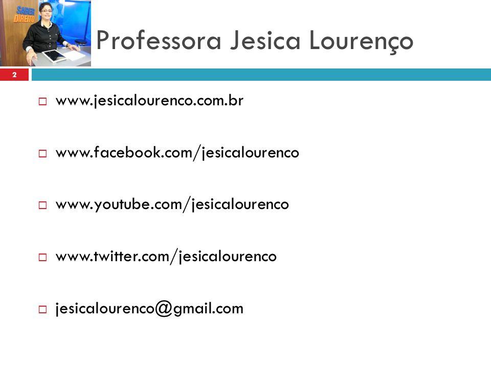 Professora Jesica Lourenço