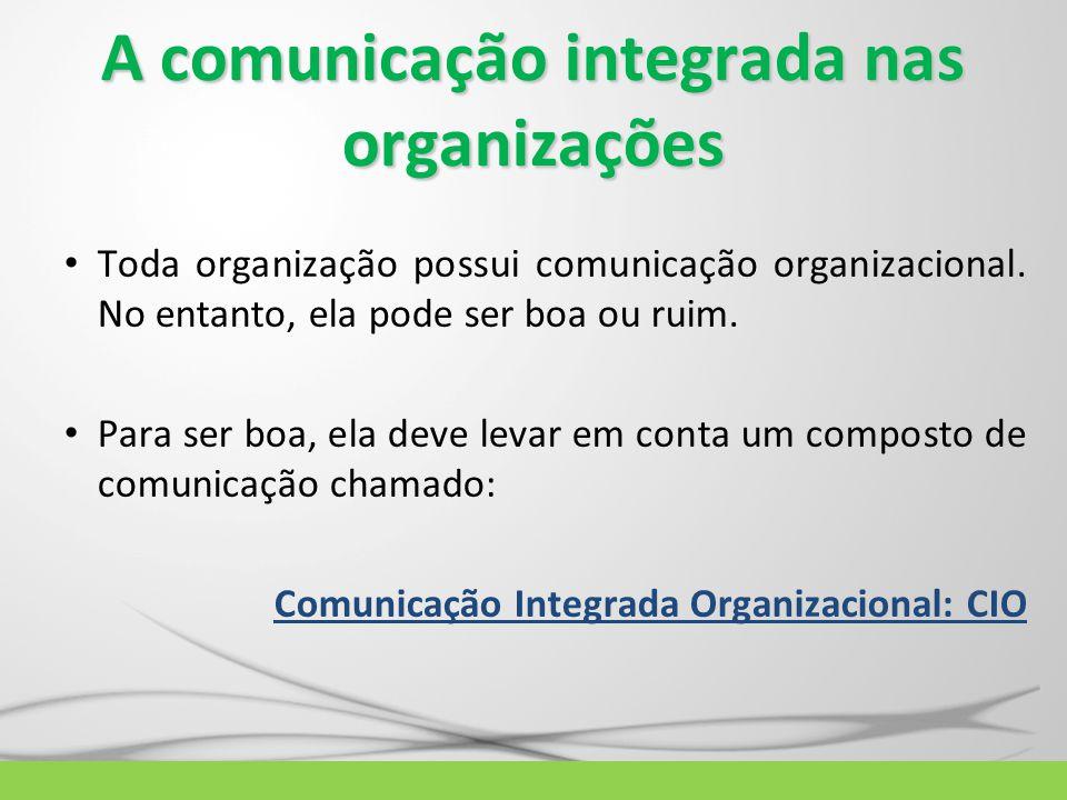 A comunicação integrada nas organizações