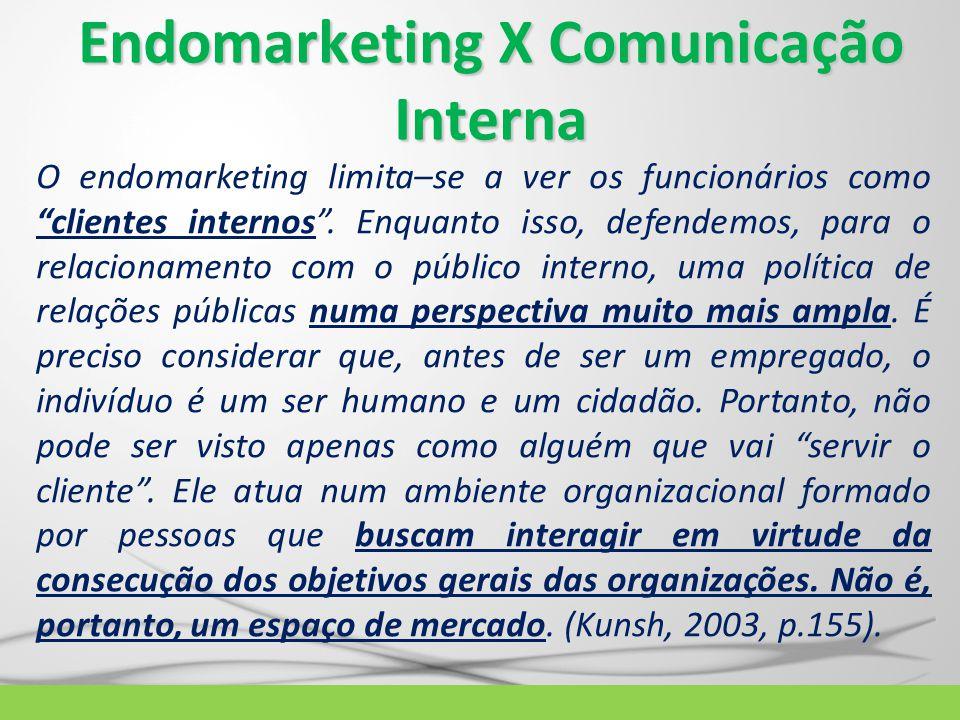Endomarketing X Comunicação Interna