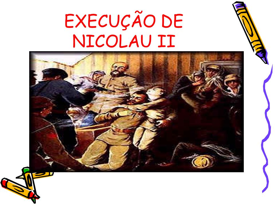 EXECUÇÃO DE NICOLAU II