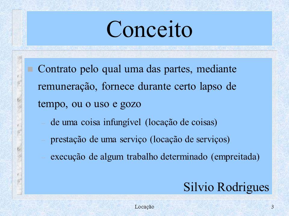 Conceito Silvio Rodrigues