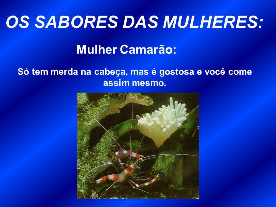 OS SABORES DAS MULHERES: