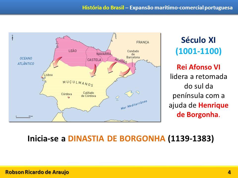 Inicia-se a DINASTIA DE BORGONHA (1139-1383)