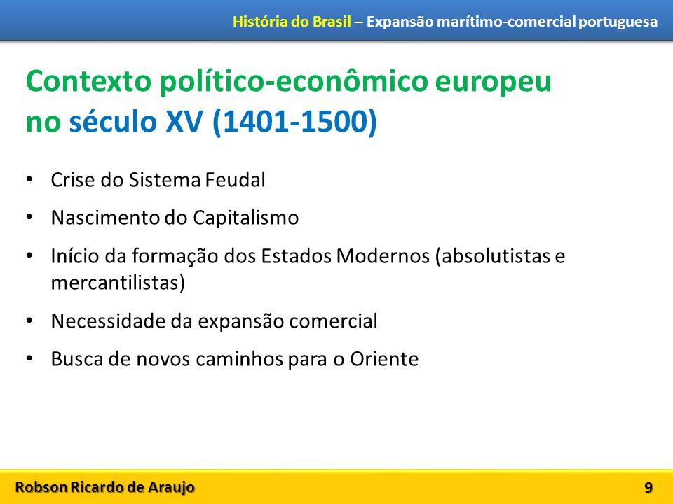 Contexto político-econômico europeu no século XV (1401-1500)