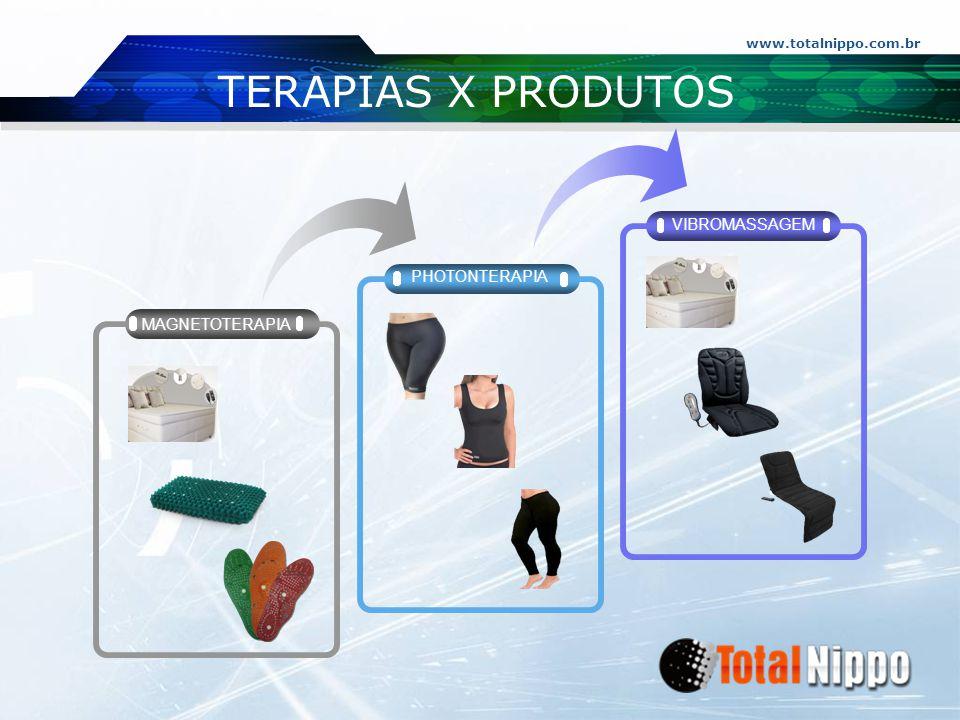 TERAPIAS X PRODUTOS VIBROMASSAGEM PHOTONTERAPIA MAGNETOTERAPIA