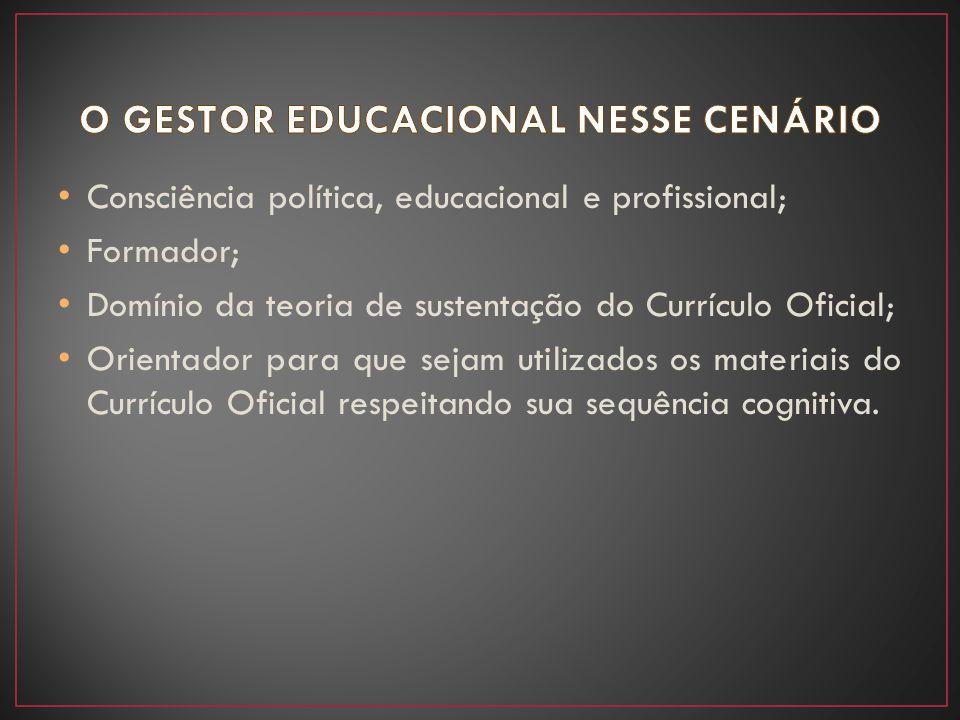 O GESTOR EDUCACIONAL NESSE CENÁRIO