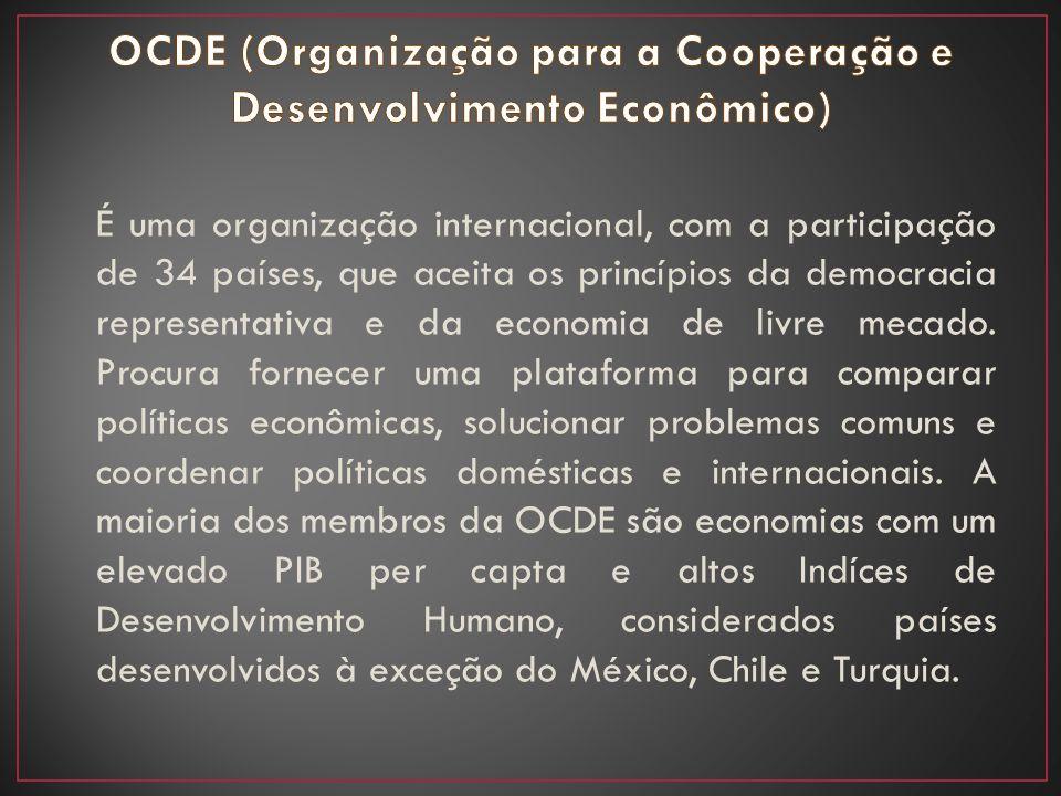 OCDE (Organização para a Cooperação e Desenvolvimento Econômico)