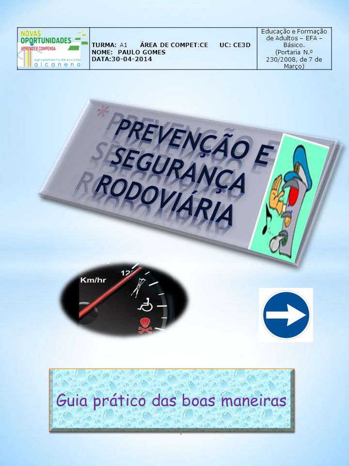 Prevenção e segurança rodoviária