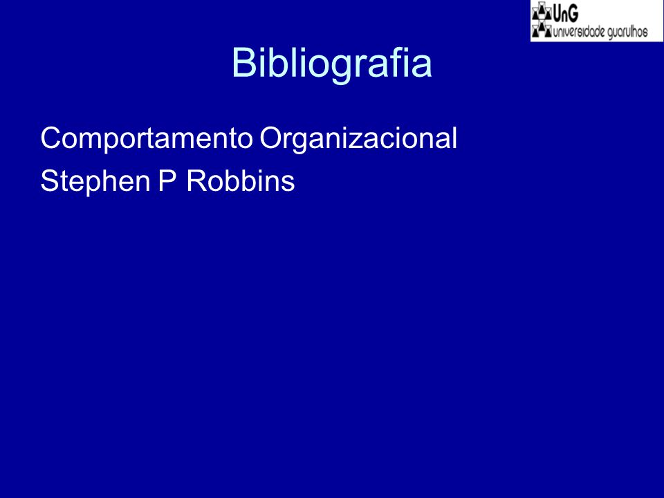 Bibliografia Comportamento Organizacional Stephen P Robbins