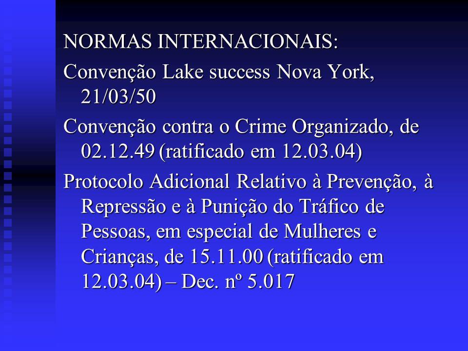 NORMAS INTERNACIONAIS:
