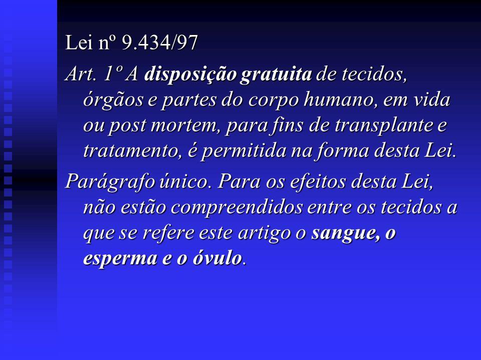 Lei nº 9.434/97