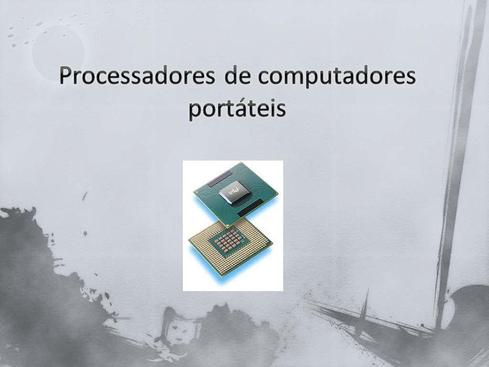 Processadores de computadores portáteis